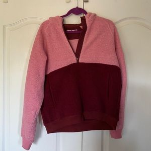 Outdoor Voices MegaFleece Half-Zip Pink/Red